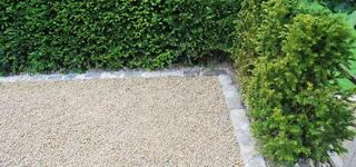 Les jardins de valentine - Pose de bordure