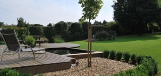 Les Jardins de valentine - Réalisations de terrasse en bois